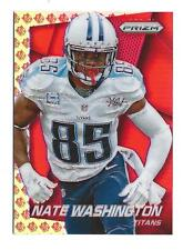 2014 Panini Prizm Prizms NFL Shield #131 Nate Washington Titans 11/75