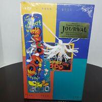 Warner Brothers Looney Tunes Characters Hardcover Journal Vintage 2000 - Sealed
