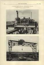 1921 20 Ton Steam Goliath Crane Butters Bros Glasgow