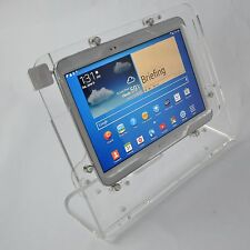 Galaxy Tab 2 10.1 Note 2013 Security Clear Desktop Stand for Kiosk, POS, Store