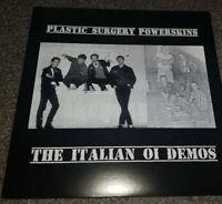 LP Ltd. Vinyl Plastic Surgery - Rivolta Skinhead oi Punk Split