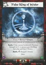 Legend of the Five Rings L5R CCG CoM Coils of Madness False Ring of Water