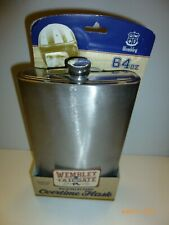 Wembley Tailgate 64 Oz Stainless Overtime Flask