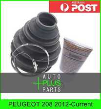 Fits PEUGEOT 208 2012-Current - Boot Outer Cv Joint Kit 84.5X118X34.5
