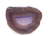 Agate Gemstone Polished Crystal Slice (EA7127) Brazil healing coaster reiki