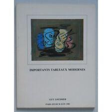 Importants tableaux modernes, sulptures - Guy Loudmer / Réf4291