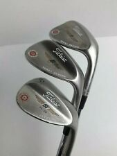 Titleist Vokey wedge set 52, 56 and 60 Degree. Mens right Hand