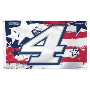 Kevin Harvick 2020 Wincraft #4 SHR Patriotic 3 x 5 Deluxe Flag FREE SHIP