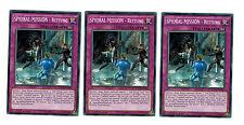 YUGIOH MAXIMUM CRISIS 3 x spioral-mission - SALVATAGGIO macr-de089 COMUNI,1.