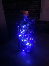 Blue Bottle Light. HAIG Gin. Stunning Bright LEDS. Quirky Valentines Gift