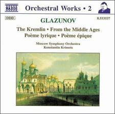 Glazunov: The Kremlin, From the Middle Ages, etc., New Music