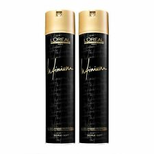 L'Oreal Infinium Professional Hairspray 500ml - Soft x 2