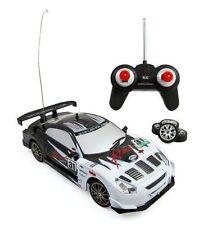 Super Fast Drift King WHITE R/C Sports Car Remote Control Drifting 1:24#C2483B