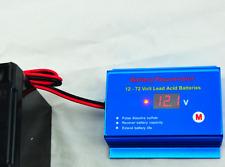 BATTERY SOLAR DESULFATOR 600AH GEL AGM ROLLS FOR VOLTAGE 12 TO 72V