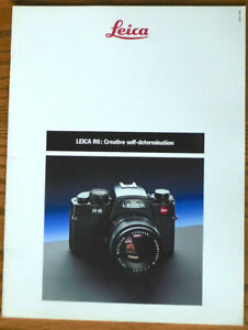 Leica R6 Brochure - English 28-Pages - PERFECT LN