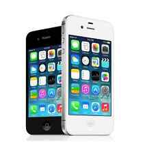 "Apple iPhone 4S - iOS 16GB 3G WIFI Unlocked 3.5"" Smartphone - White/Black -"