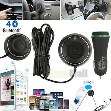 NFC Bluetooth Wireless Car AUX Receiver 3.5mm Music Adapter Hands Free Speaker