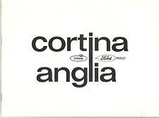 Ford British   Catalog   Cortina And Anglia  1965