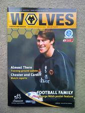 Wolverhampton Wanderers v Queens Park Rangers Championship 2005/06  PROGRAMME