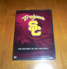 TOJANS SC History of USC Football NCAA Sports University Trojan Sport DVD NEW
