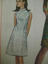Vintage Princess A-Line Dress Sewing Pattern Women Simplicity Sz 9/10 Uncut 7459