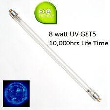 Ten |10X| UV Lamps - 254nm UV-C 8W 8-Watt G8-T5 Bi-Pin Base Germicidal