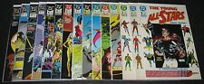 The Young All-Stars 1, 5-12, 18, 19, 21-23, 26 (1987-1989 DC) 1st Print (15) lot