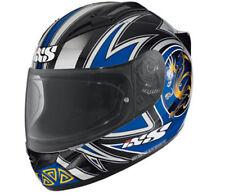 """IXS Casque HX 404 """" Dragon """" carbone kevlar fibre de verre taille S (55) Haut"""