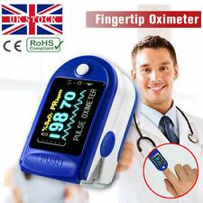 UK Fingertip Pulse Oximeter Oxygen Saturation Meter SPO2 PR Blood Monitor Finger
