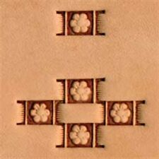 X598 Craftool Basketweave Stamp Tandy Leather 6598-00