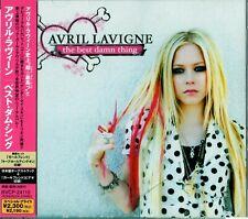 """Avril Lavigne The Best Damn Thing"""" JAPAN CD OBI +Bonustrack"""