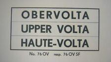 Overvolta (Haute-Volta)1959-1971 kpl. postfrische Sammlung, 674.-