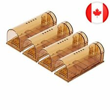 Humane Mouse Trap, Live Mice Trap, Reusable Indoor and Outside Mouse Traps, Kids