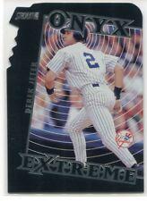 2000 Stadium Club Onyx Extreme Die Cuts 2 Derek Jeter