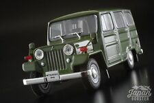 [First43 1/43] Mitsubishi Jeep J30 1961 Green F43-013