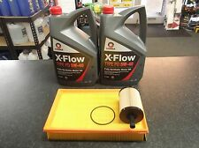 VW TRANSPORTER T5 2.5 TDI  SERVICE KIT OIL AIR FILTERS COMMA OIL 10 LITRES XFLOW