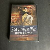 The Revolutionary War: Heroes and Battles (DVD, 2011) History Documentary SEALED