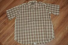 C. Comberti XXL 45/46 Short Sleeve Button up Shirt