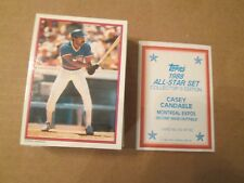 1988 Topps 60 Card All Star Glossy Set COMPLETE