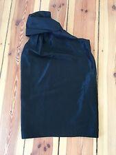 orig. ACNE Whisper One Shoulder Dress LBD | Size 38