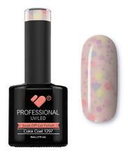 1297 VB Line Yogurt Snow Purple Neon Glitter- gel nail polish - super gel polish