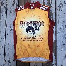 Pearl iZumi BUCKAROO Cowboy Spicy Bean Salsa • Women's Cycling Jersey size LARGE