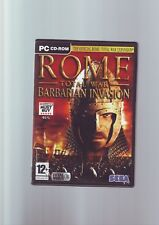 ROME TOTAL WAR : BARBARIAN INVASION EXPANSION PACK - PC GAME - COMPLETE - VGC