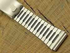 Pulsar Vintage NOS Unused Stainless Steel Watch Band 17.5mm Mens Deployment