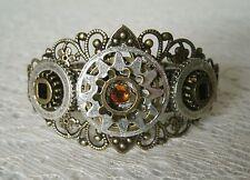 Steampunk Cuff Bracelet, victorian edwardian goth fantasy gothic cosplay