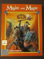 Might And Magic Dark Side Of Xeen Big Box IBM PC Interplay Game W Clue Book, Map