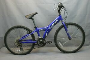 "2003 Giant MTX 225 24"" Kids MTB Bike Small Shimano Grip V-Brakes USA Charity!"