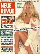 Neue Revue - Nr. 49/1996 vom 28. November 1996 - Pam Anderson, Sex-Videos