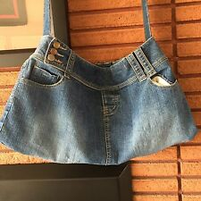 Handmade Denim Handbag Made From Used Blues