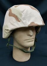 Current Issue U.S. Army Military Helmet With Dessert Camo Cover